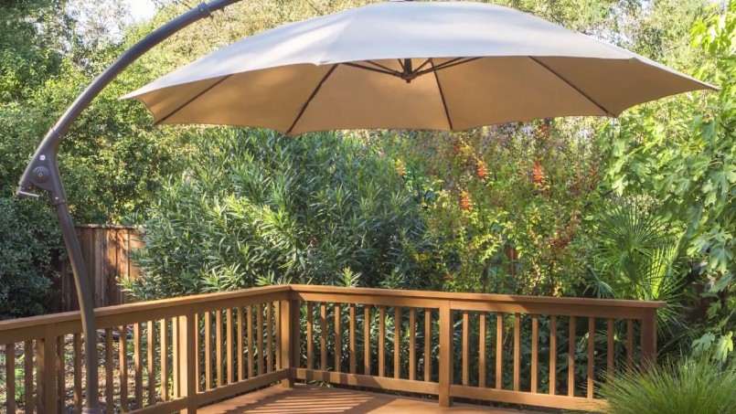 Costco Offset Umbrella | Costco Umbrella | Patio Swing With Canopy Costco