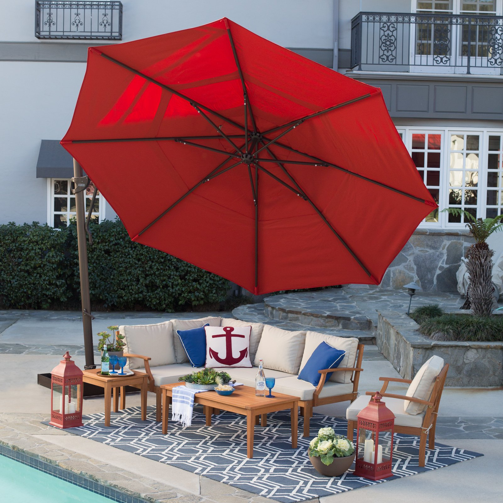 umbrella sets costco clearance image concept inspiration dining of incredible sasg infrared patio lights and furniture