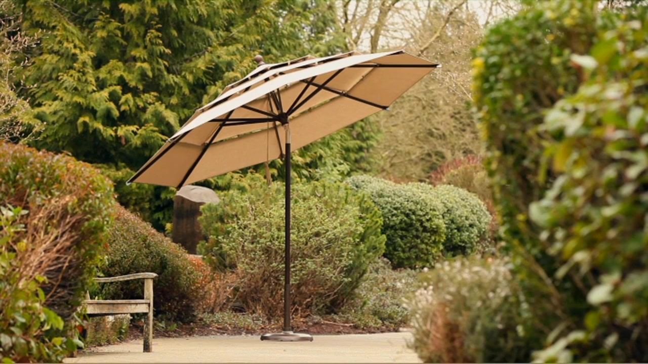 Costco Offset Umbrella | Patio Furniture Costco | Cheap Patio Furniture Sets Under 300