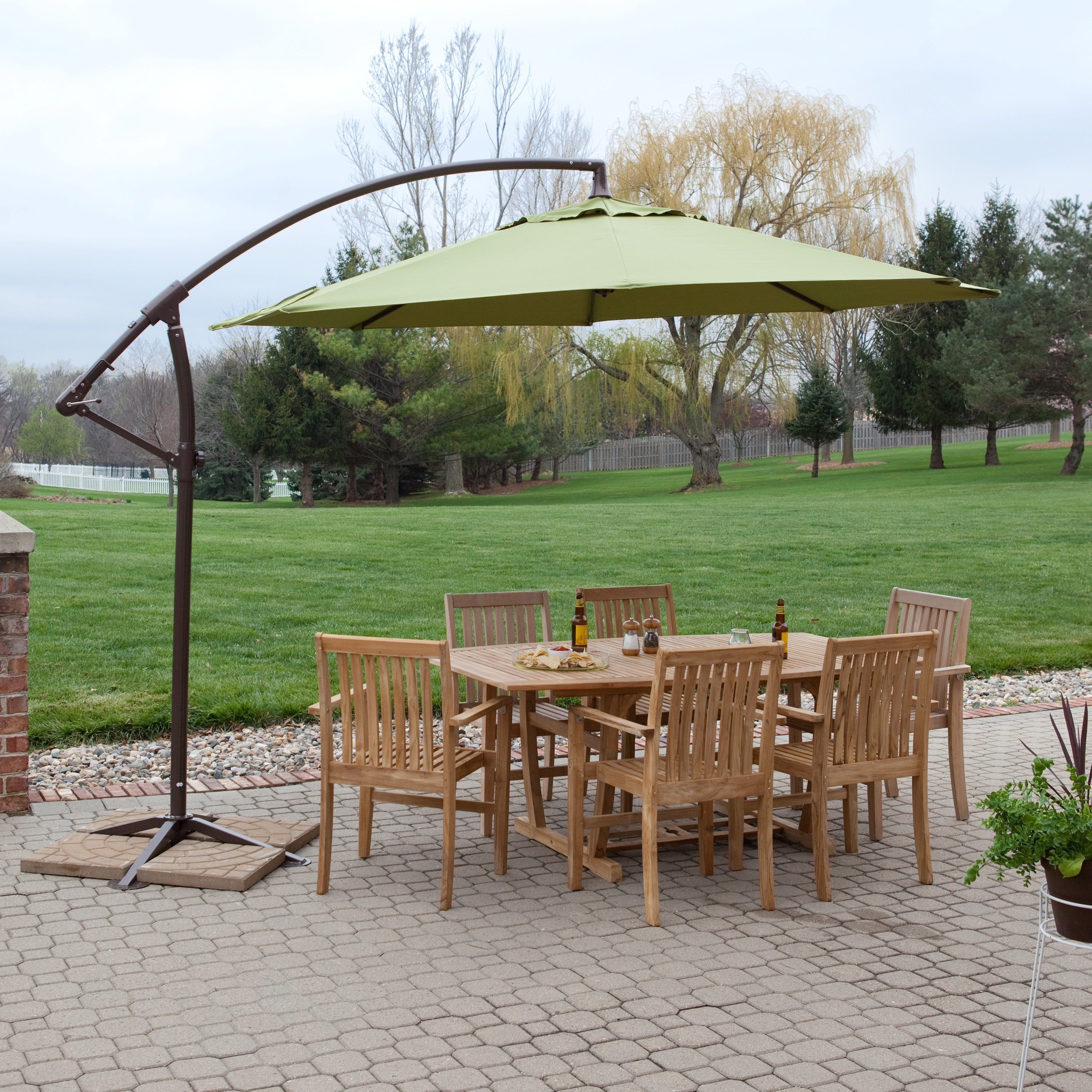Costco Patio Furniture | Outdoor Sectional Costco | Costco Offset Umbrella