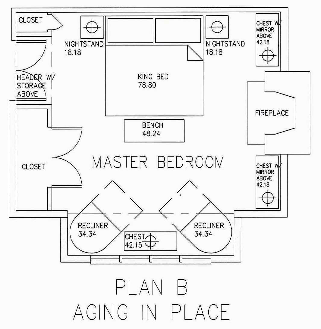 Cozy Master Bedroom and Bath Addition Floor Plans | Beautiful Master Bedroom Addition Plans
