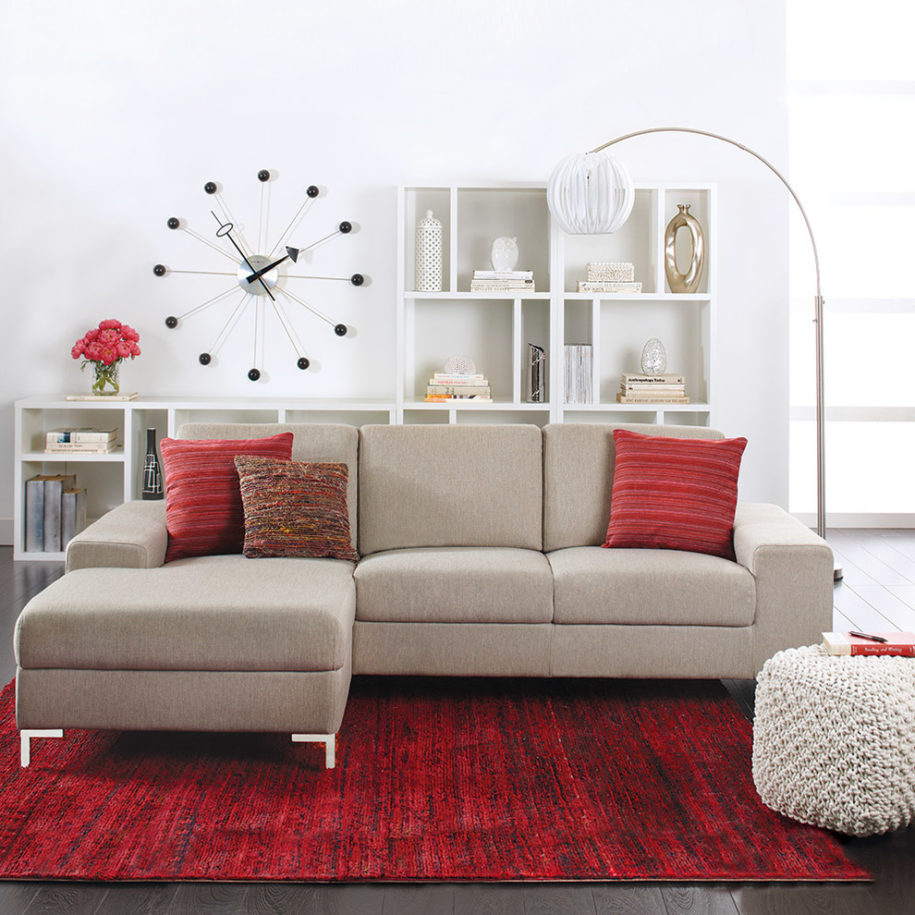 Dania Sectional | Dania Furniture Portland | Daniafurniture