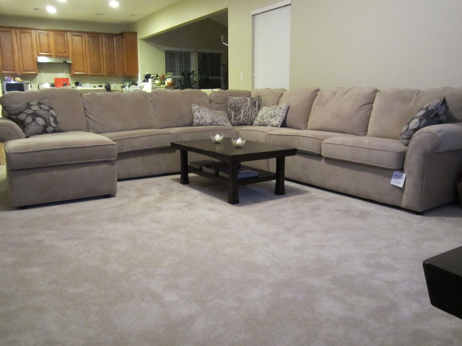Deep Seated Sectional | Sectional Sofa with Chaise | Costco Leather Sectional