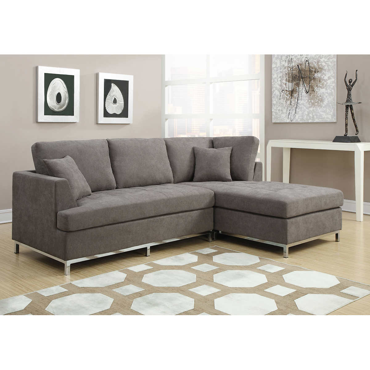 Deep Sectional Sofa | Costco Recliner Sofa | Costco Leather Sectional