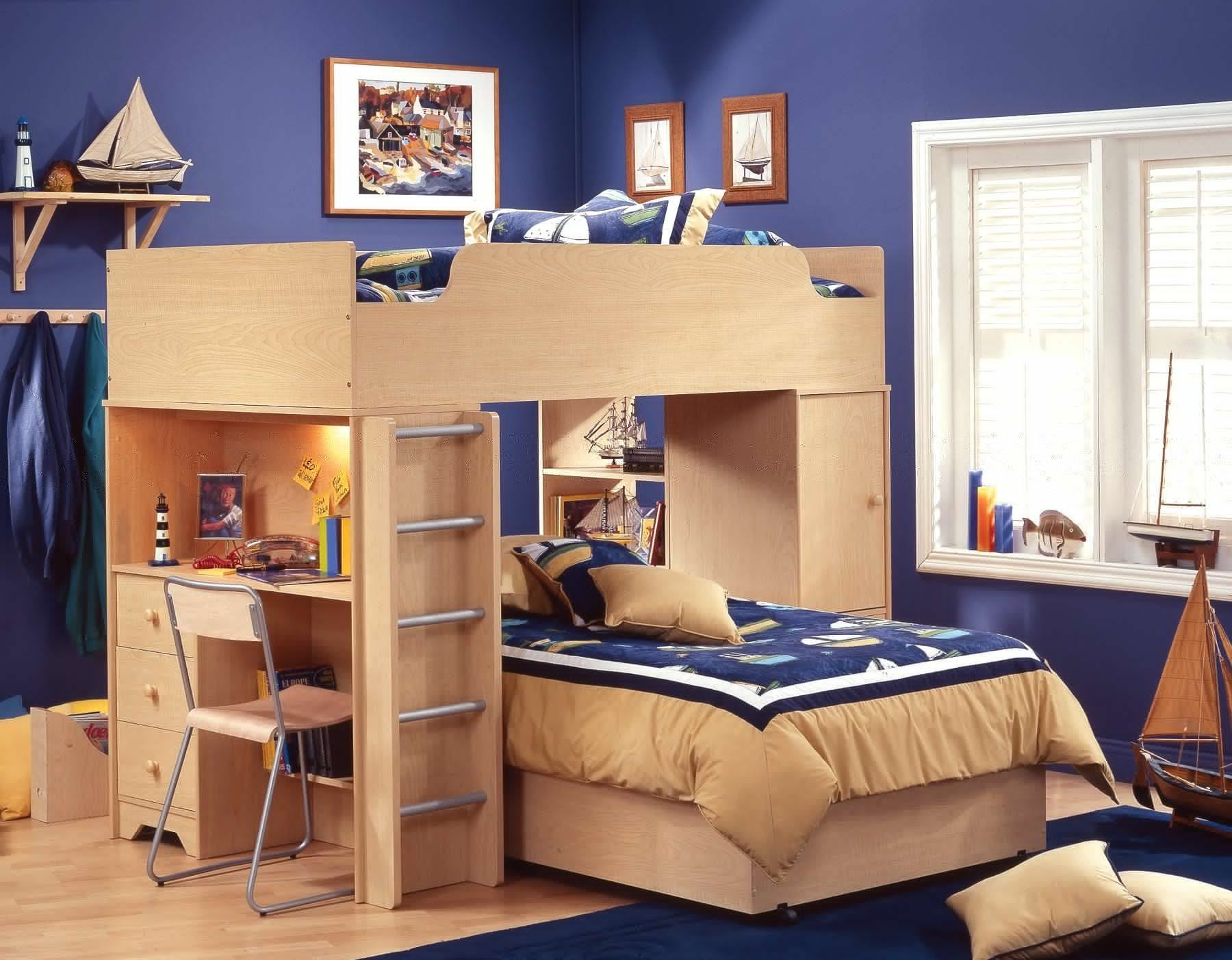 Diy Bunk Bed Plans with Stairs | Bunk Beds for Small Rooms | Bunk Bed for Teenager