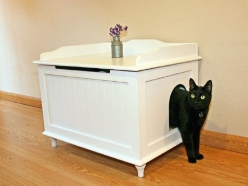 Diy Cat Litter Box | Hidden Cat Litter Box | Litter Pans