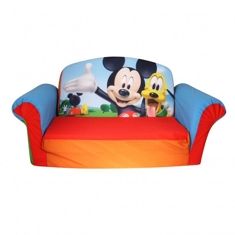Dora Couch | Toddler Flip Open Sofa | Foam Flip Chair Bed