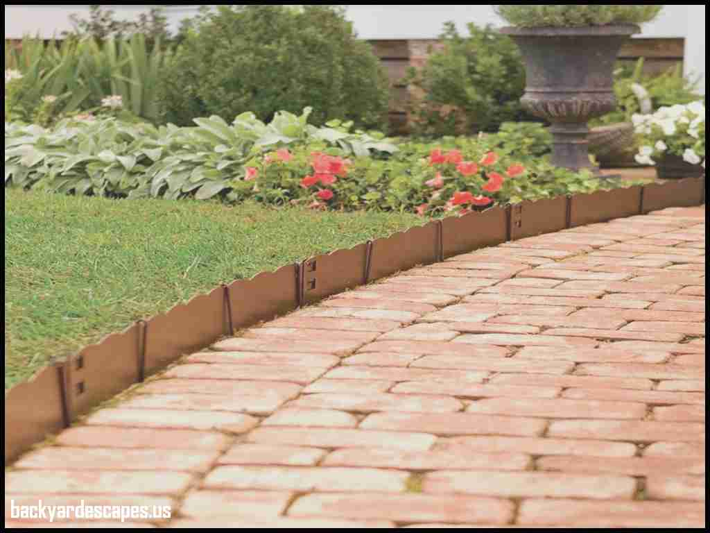 Edging for Flower Beds | Lawn Edging Lowes | Home Depot Landscape Edging
