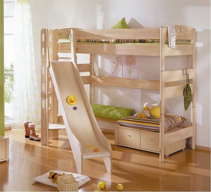 Elevated Loft Bed | Bedroom Designs For Adults | Bunk Beds For Small Rooms