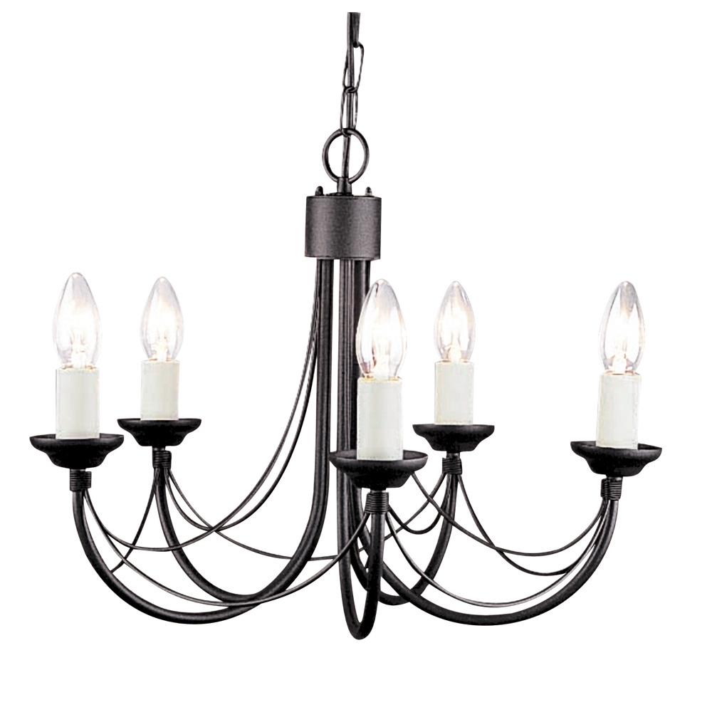 Enchanting Gothic Chandelier | Enticing Mexican Wrought Iron Light Fixtures