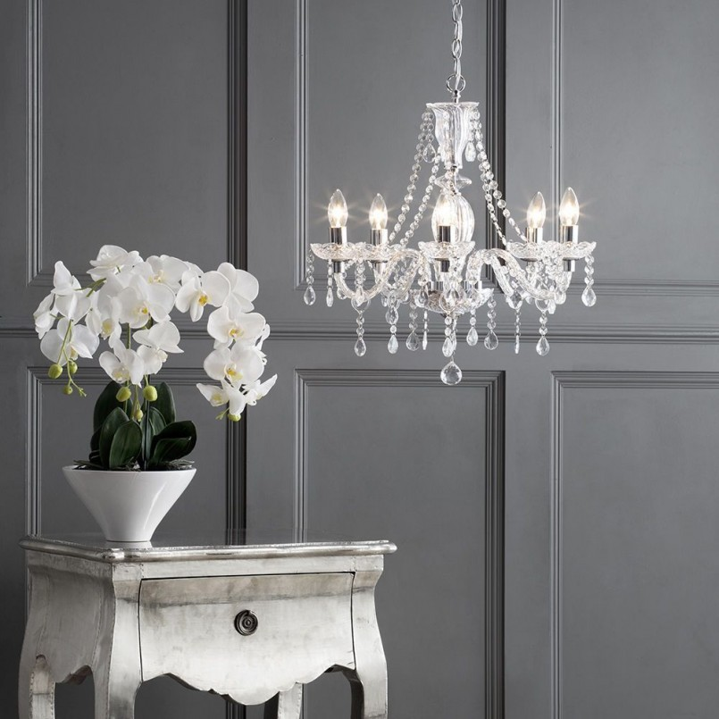 Entrancing Hand Forged Light Fixtures | Remarkable Gothic Chandelier