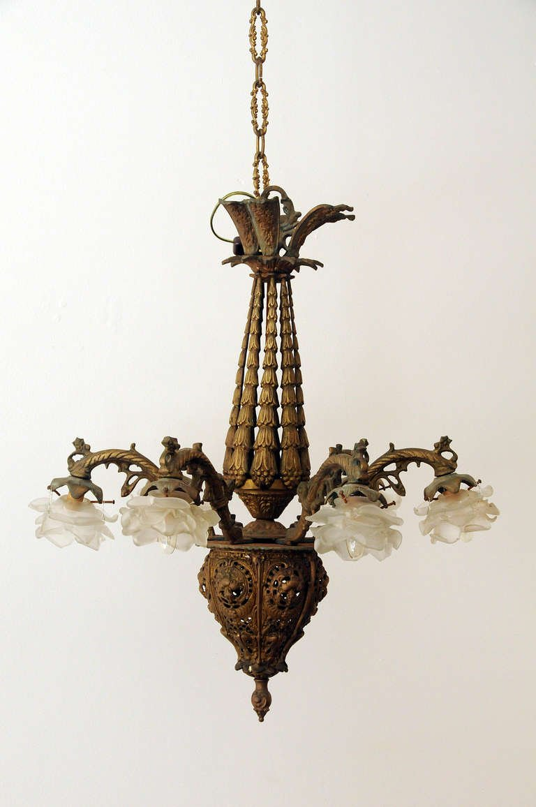 Excellent Hand Forged Lighting | Pretty Gothic Chandelier Inspiration