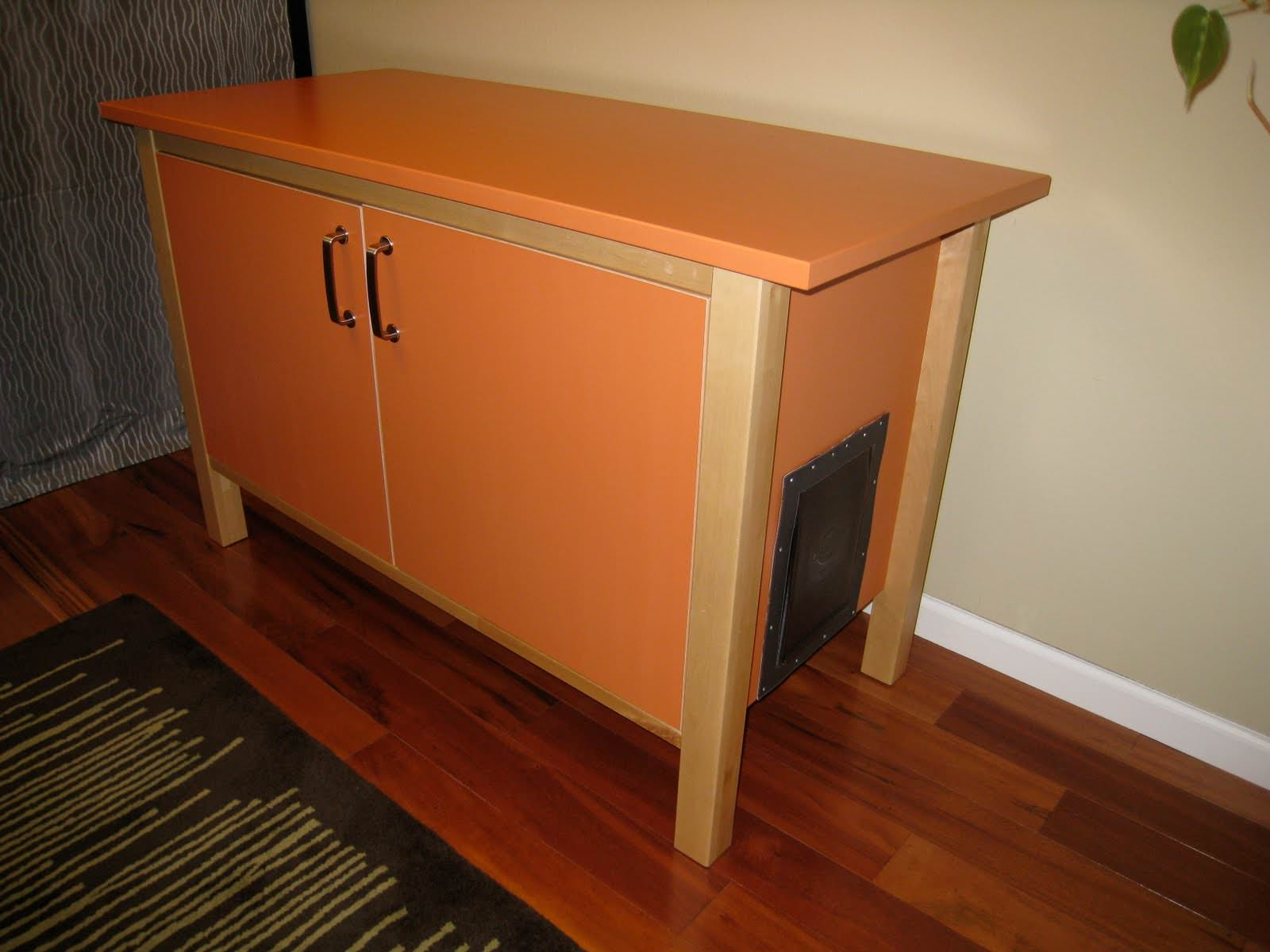 Fancy Litter Boxes | Kitty Litter Furniture | Hidden Cat Litter Box