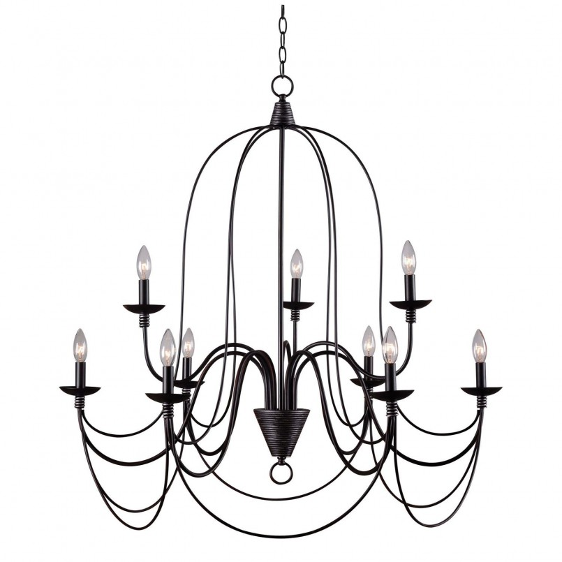 Fantastic Gothic Chandelier Inspirations   Incredible Mexican Wrought Iron Light Fixtures