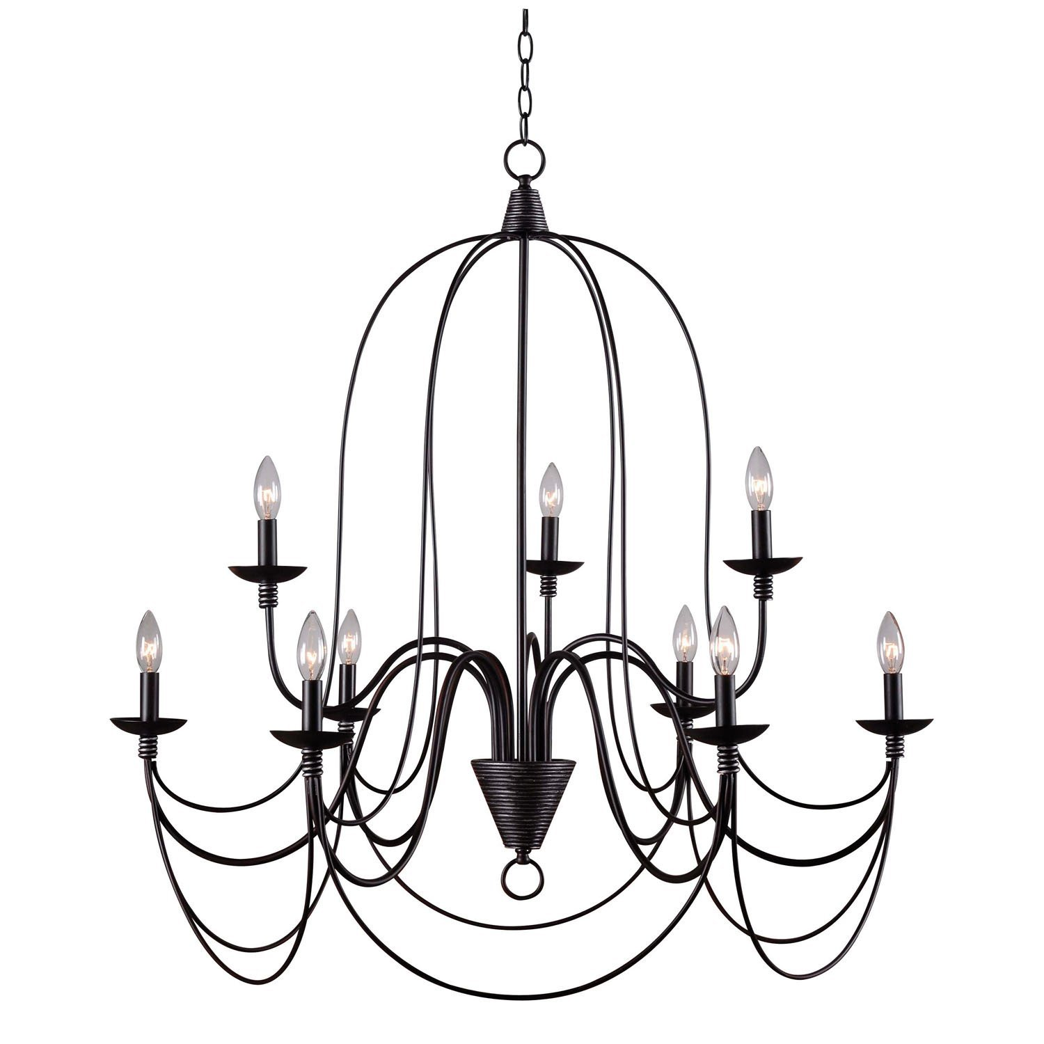 Fantastic Gothic Chandelier Inspirations | Incredible Mexican Wrought Iron Light Fixtures