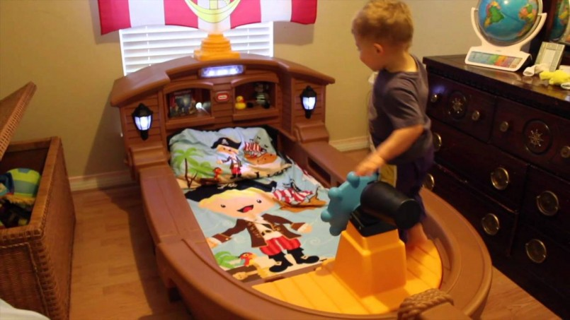 Full Size Pirate Ship Bed | Little Tikes Pirate Bed | Little Tikes Toddler Bed Cottage House