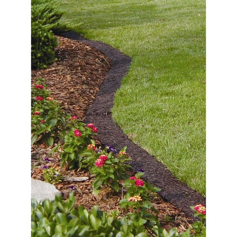 Garden Edging Lowes | Rubber Playground Border | Home Depot Landscape Edging
