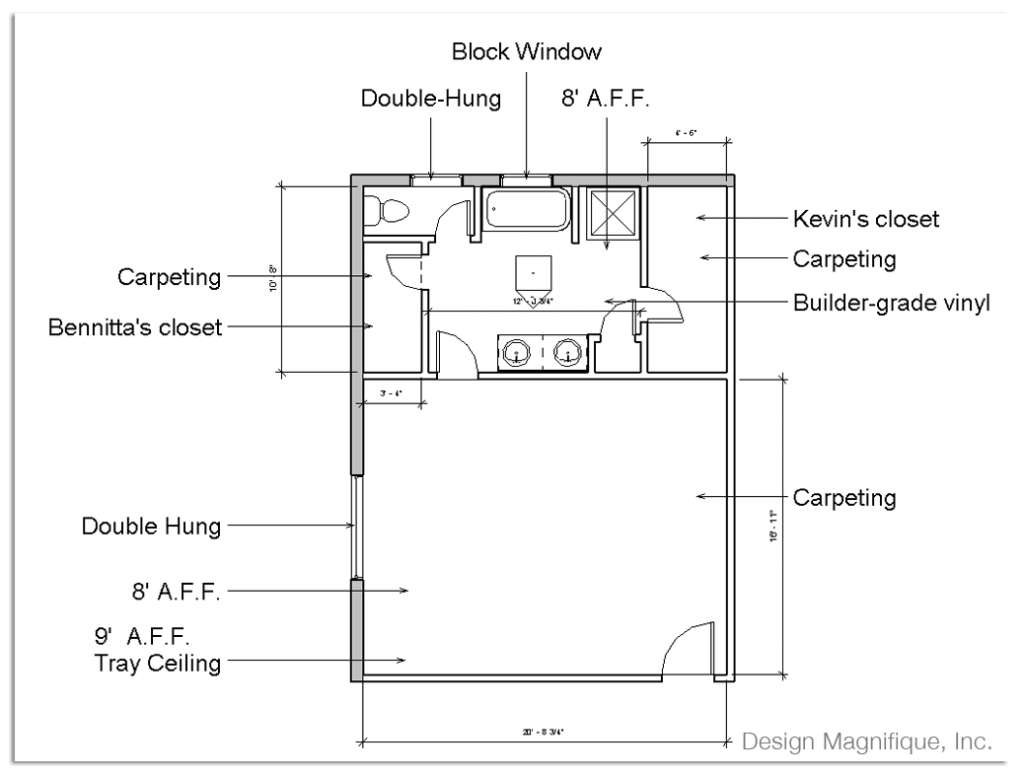 Gorgeous Double Master Suite Floor Plans | Simple Master Bedroom Addition Plans Styles