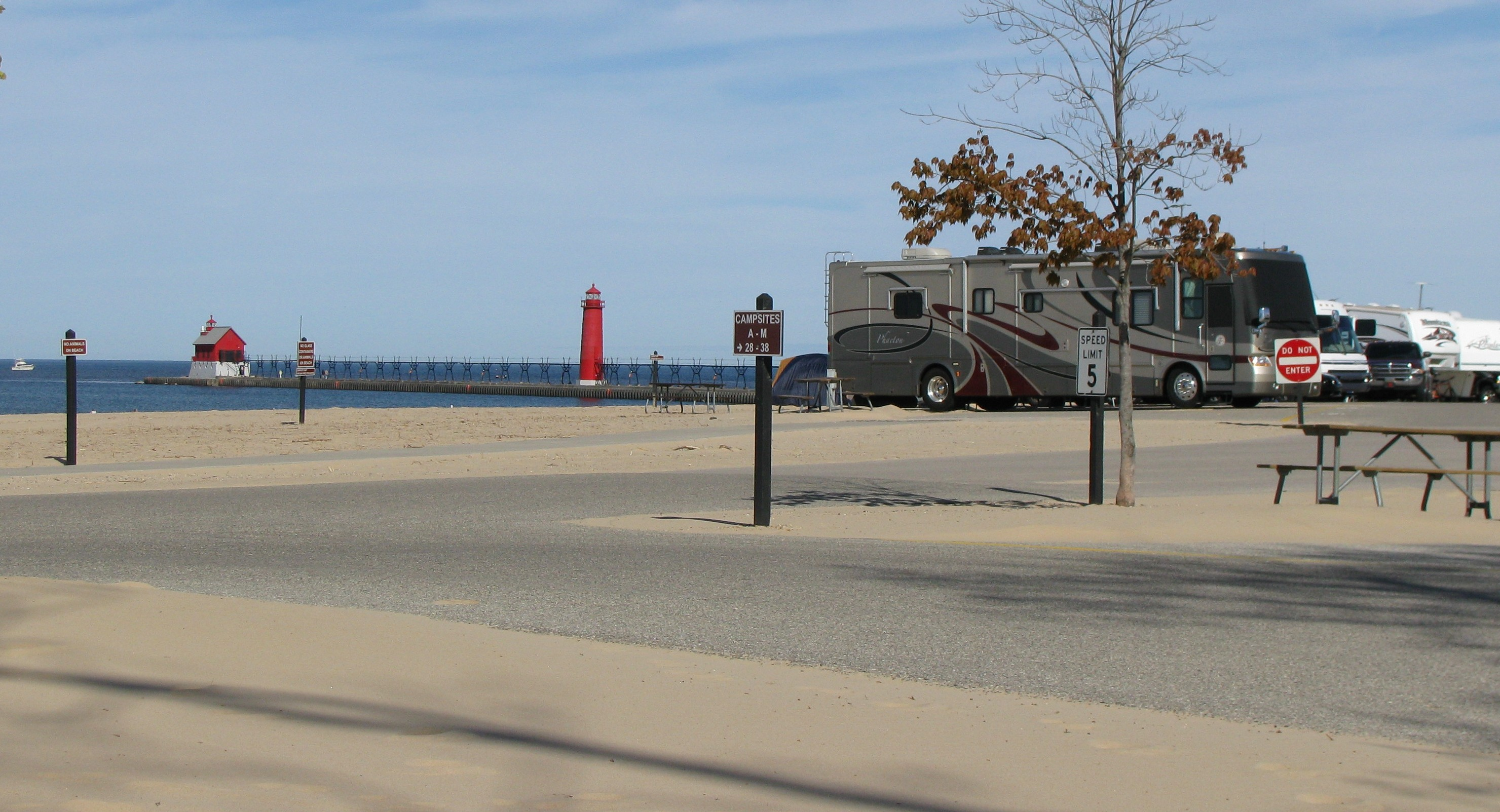 Grand Haven State Park | Grand Haven Campground |