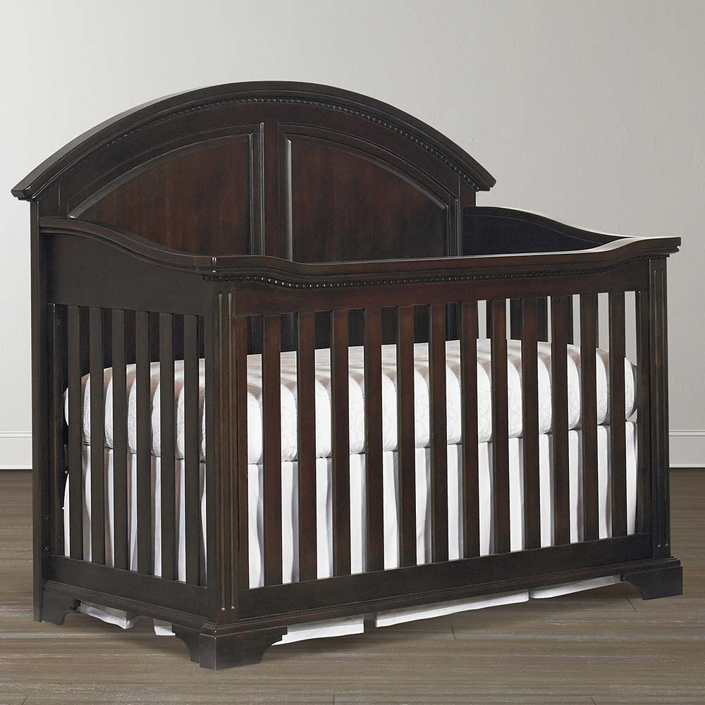 Grey Crib and Dresser Set | Newborn Furniture Packages | Bassett Baby Crib