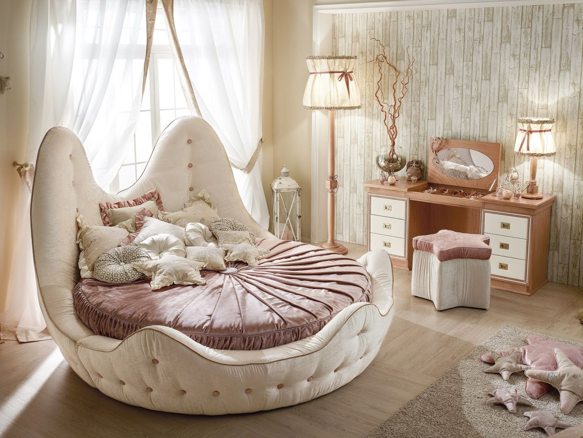 Headboard for Round Bed | Cheap Round Beds for Sale | Round Beds