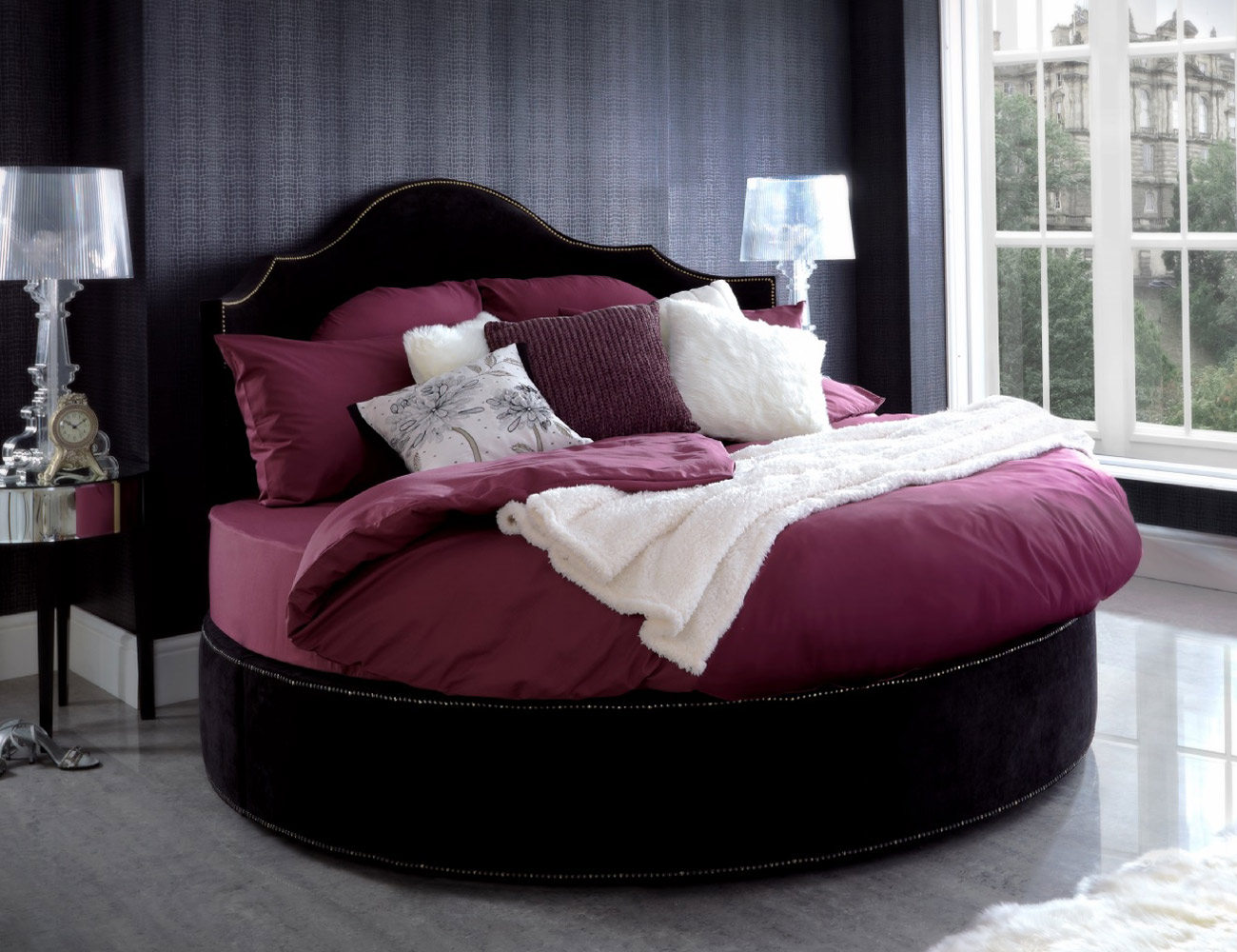 Headboard for Round Bed | Round Beds | Round Beds