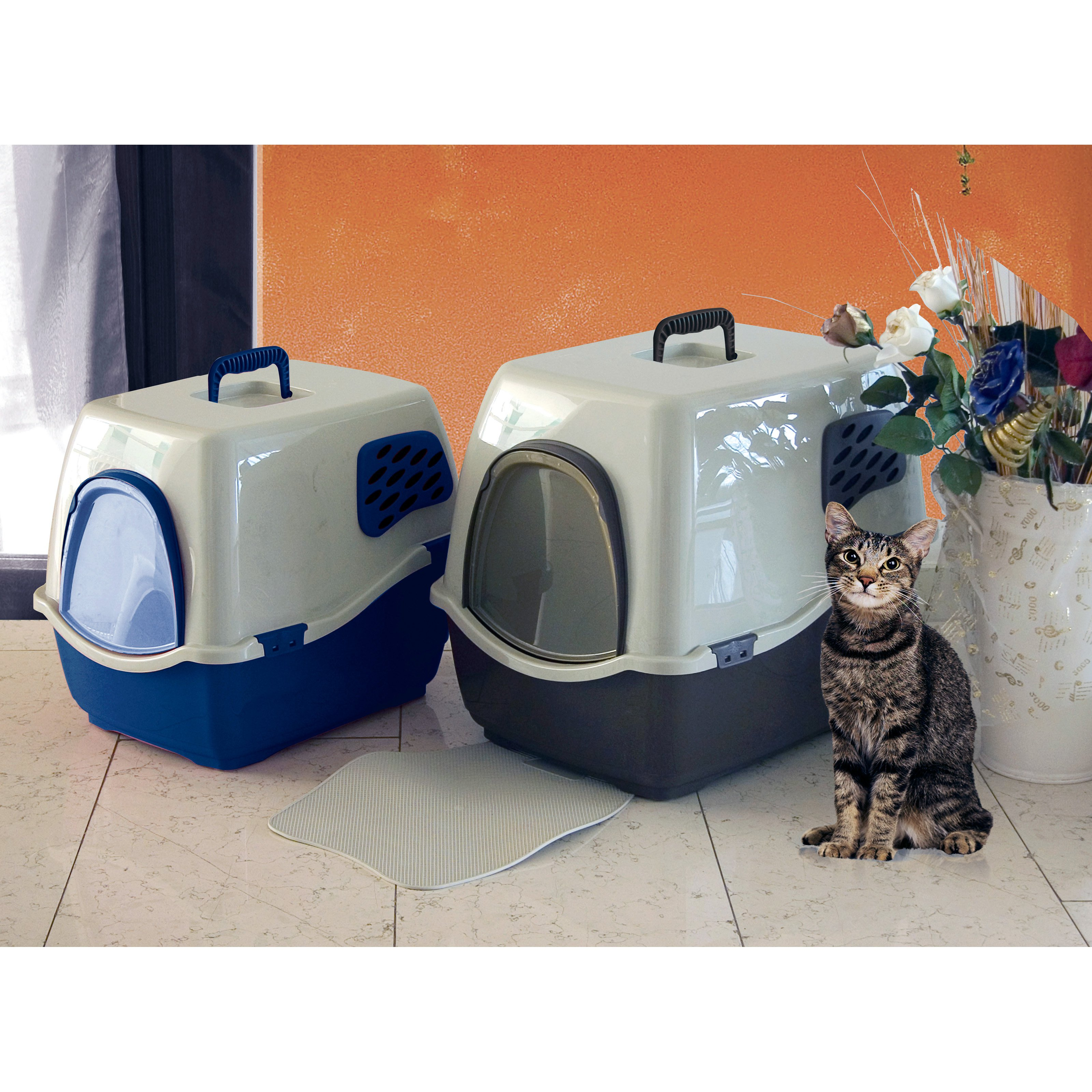 Ideas Covered Litter Box Walmart Plant Litter Box Hidden Cat