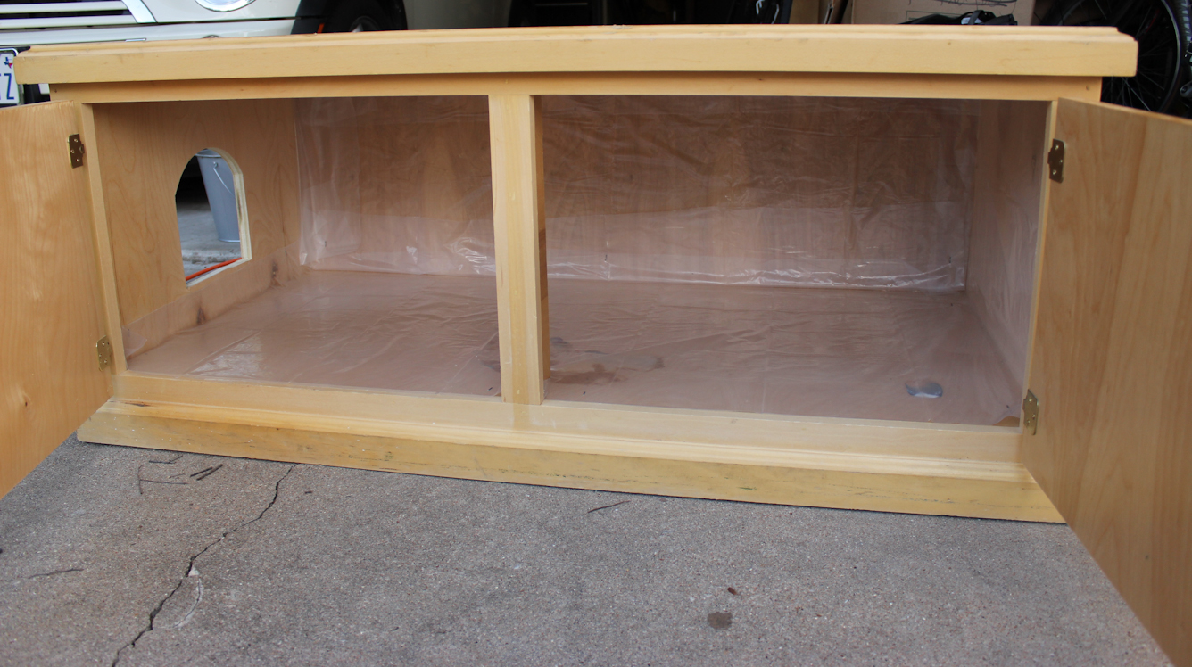 Hidden Cat Litter Box | Enclosed Litter Box Furniture | Diy Litter Box Furniture