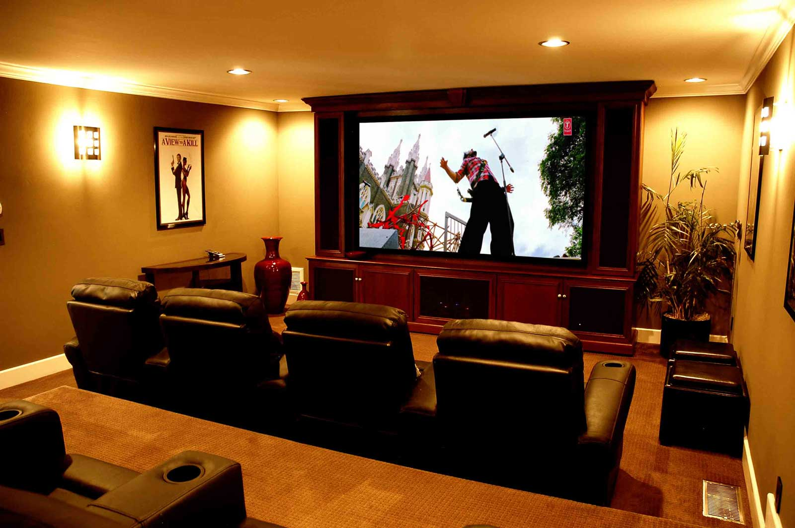 Home Theater Living Room Ideas | Cinetopia Portland | Living Room Theaters