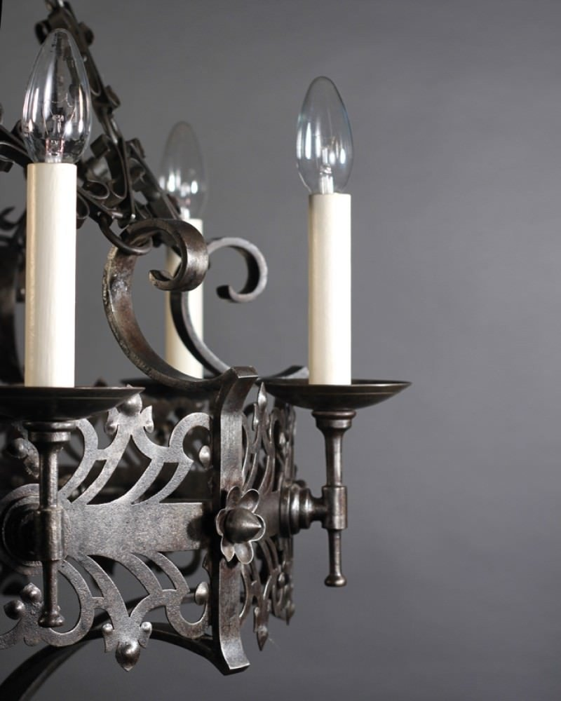Impressive Gothic Chandelier Inspiration | Creative Spanish Wrought Iron