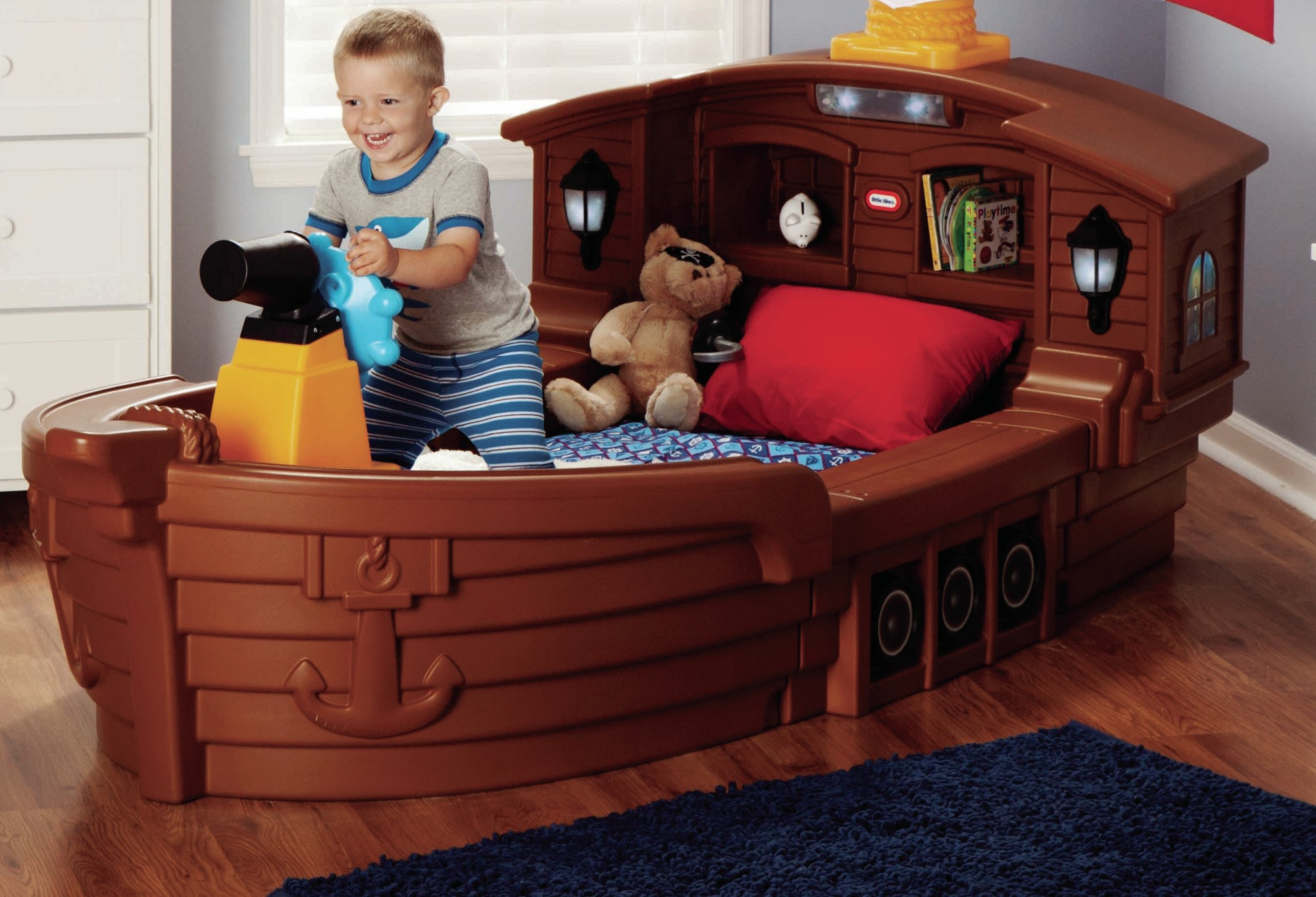 Jake Pirate Bed | Pirate Ship Bed Little Tikes | Little Tikes Pirate Bed
