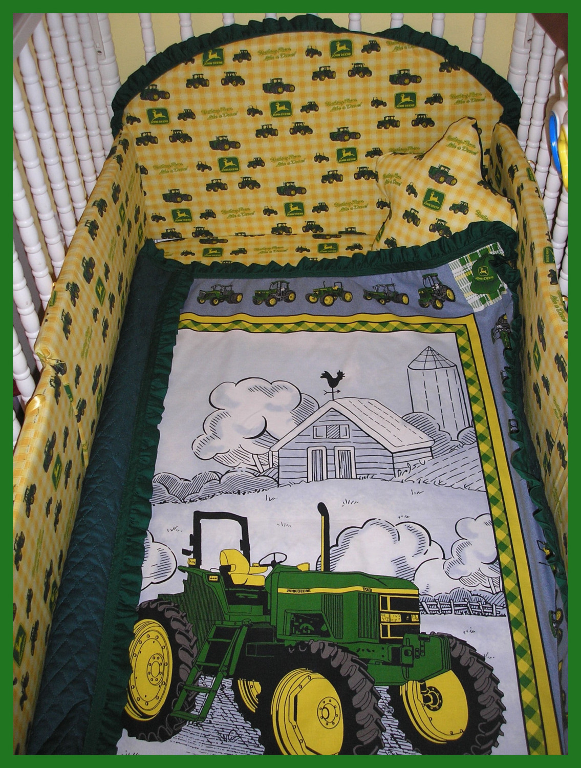 John Deer Bed | John Deere Bedding | John Deere Nursery Bedding