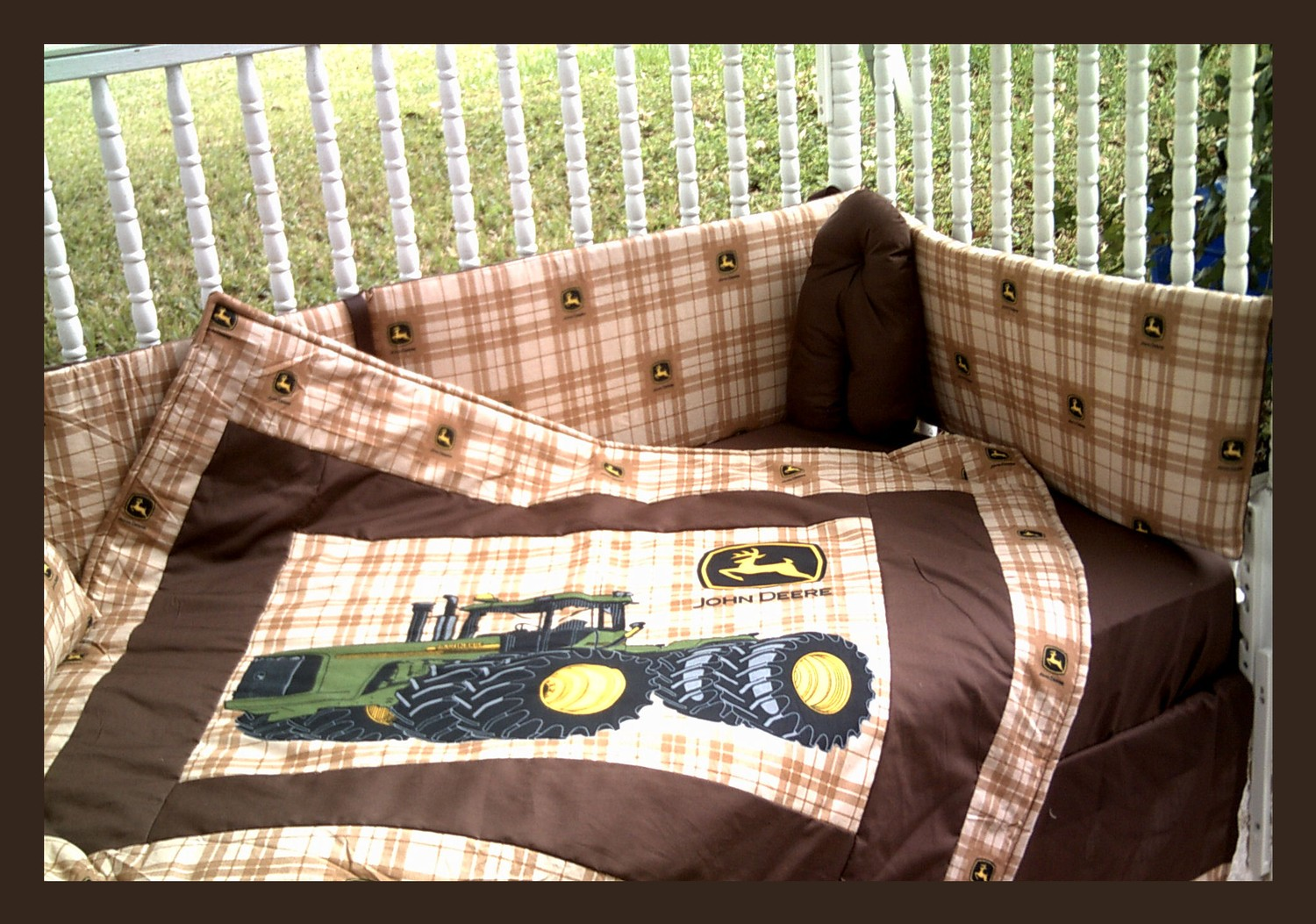 John Deer Tractor Bed | John Deere Bedding | John Deere Bed Sheets