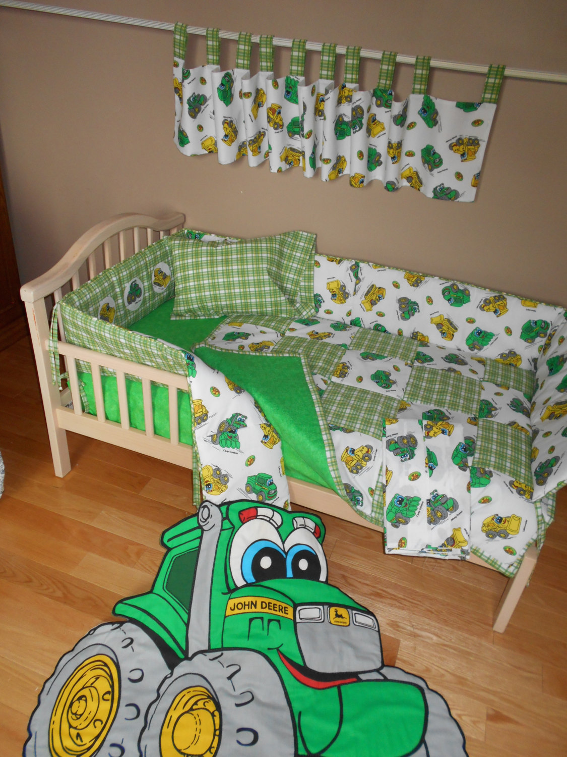 John Deere Bed for Kids | Pink John Deere Baby Bedding | John Deere Bedding
