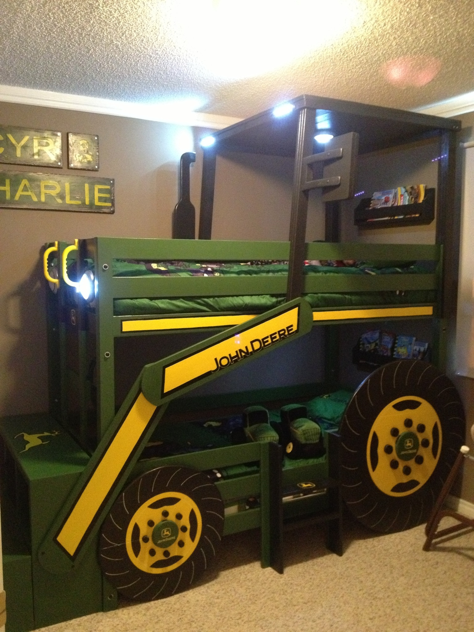 John Deere Bedding | John Deere Bed Sheets | John Deere Bed Plans