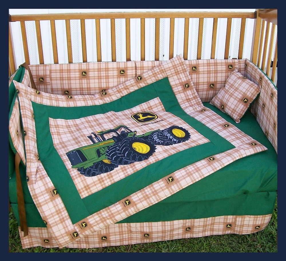 John Deere Bedding | John Deere Tractor Bedding | John Deere Baby Bedding Crib Sets