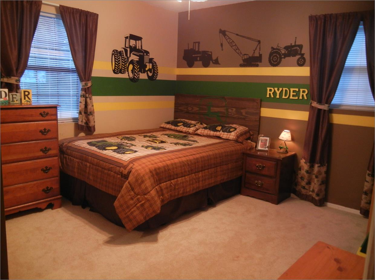 John Deere Tractor Bunk Bed | John Deere Bedding Set | John Deere Bedding