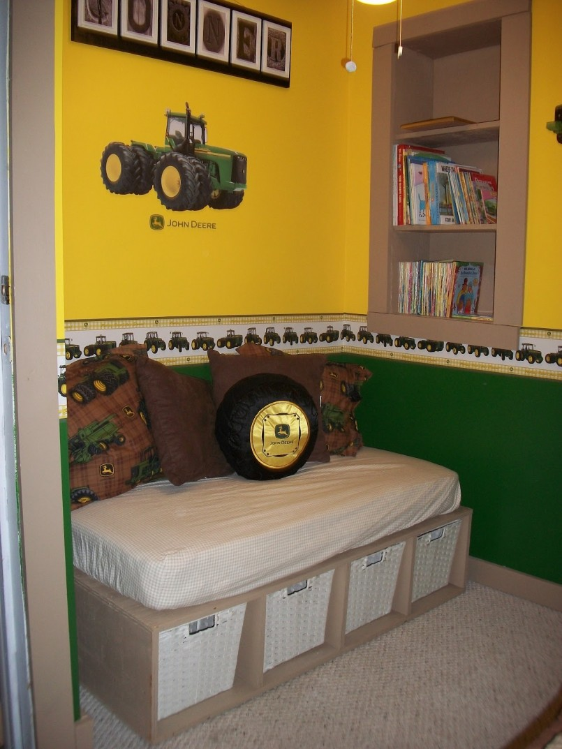 John Deere Tractor Bunk Beds | John Deere Bedding | John Deere Twin Bedding