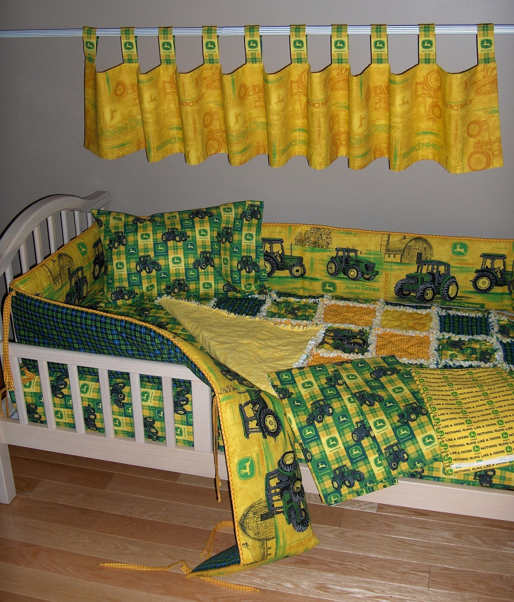John Deere Twin Bed | John Deere Tractor Beds for Toddlers | John Deere Bedding