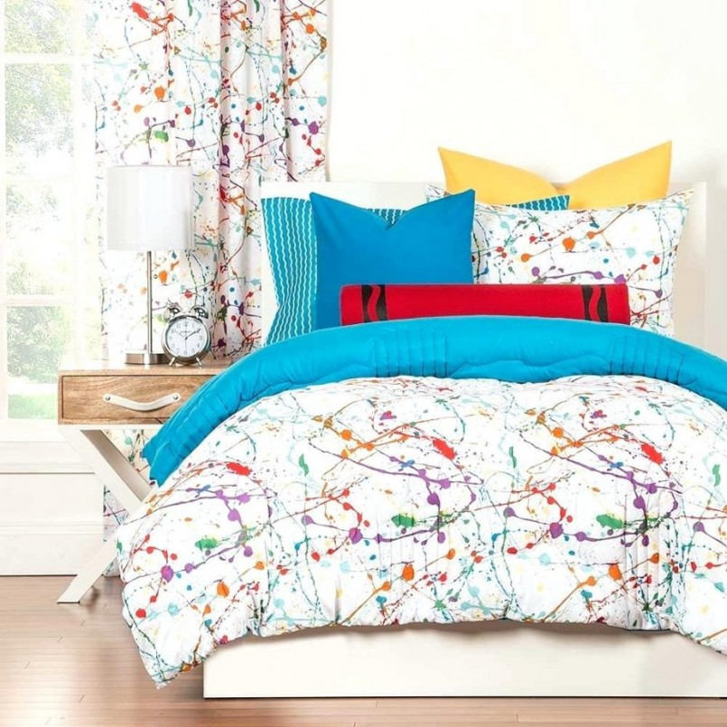 Kohls Bed In A Bag | Teenage Bedspreads | Purple And Turquoise Bedding