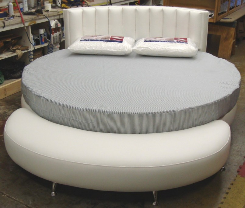 Leather Round Bed | Round Beds | Diy Round Bed Frame