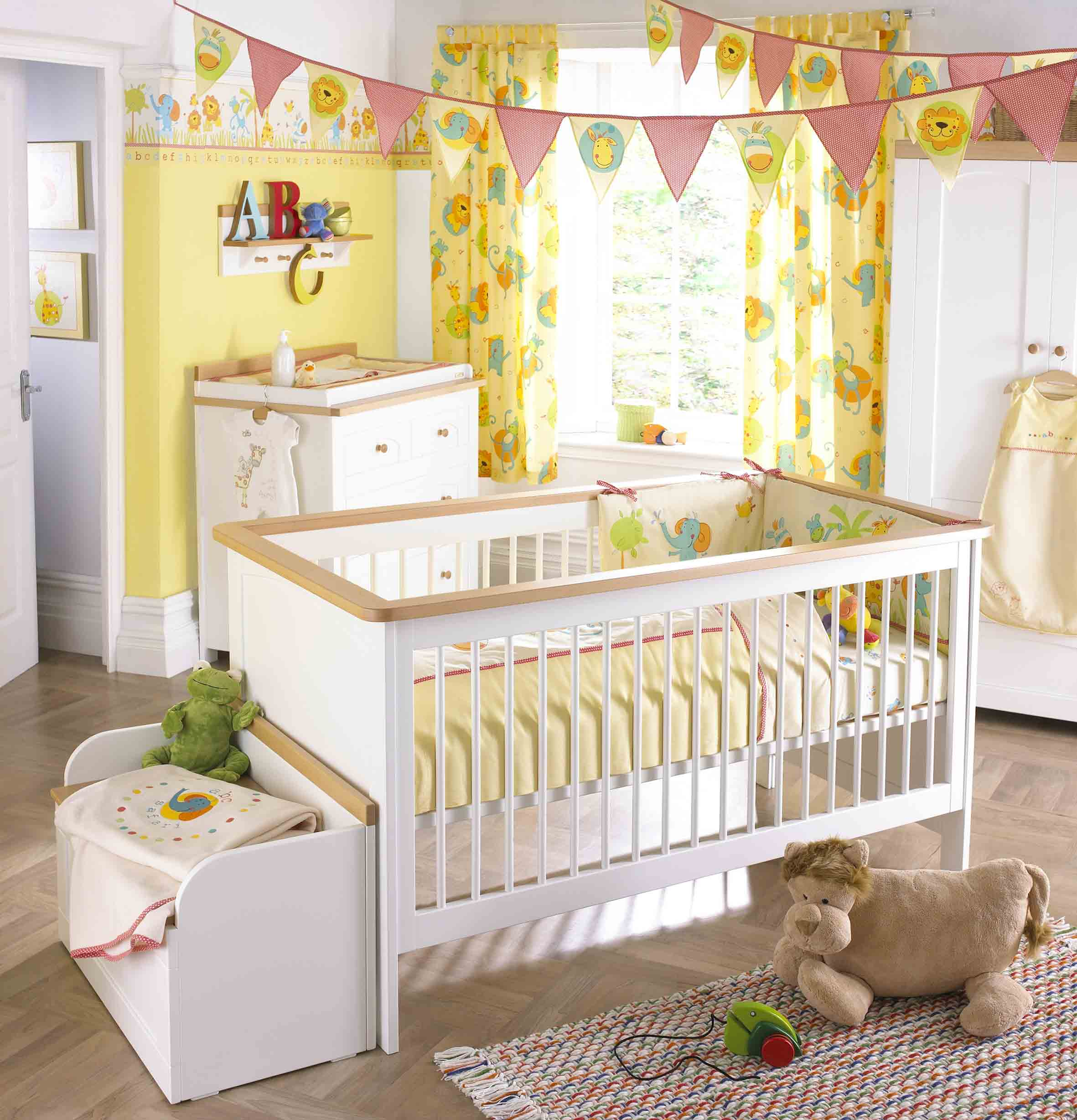 Furniture: Cute Lion King Nursery Set For Baby Nursery Ideas ...