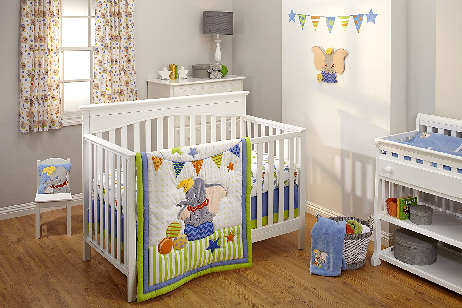 Lion King Nursery Set | Monkey Crib Set | Winnie The Pooh Crib Bedding Set