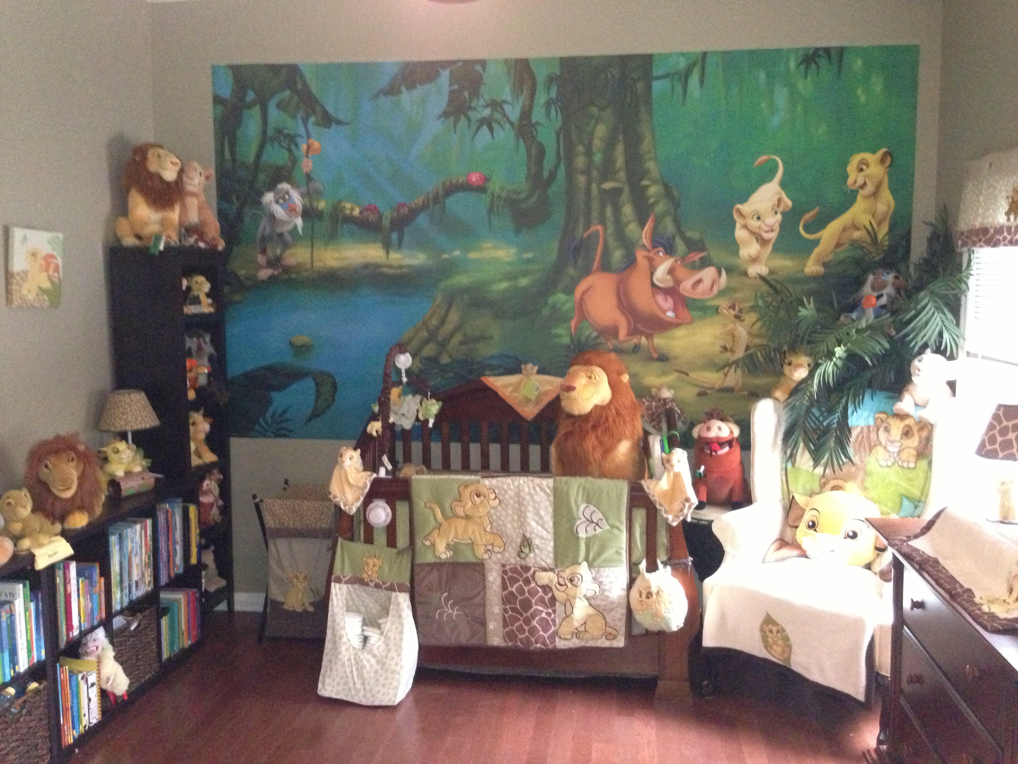 Lion King Nursery Set | Owl Crib Bedding Set | Peacock Crib Bedding
