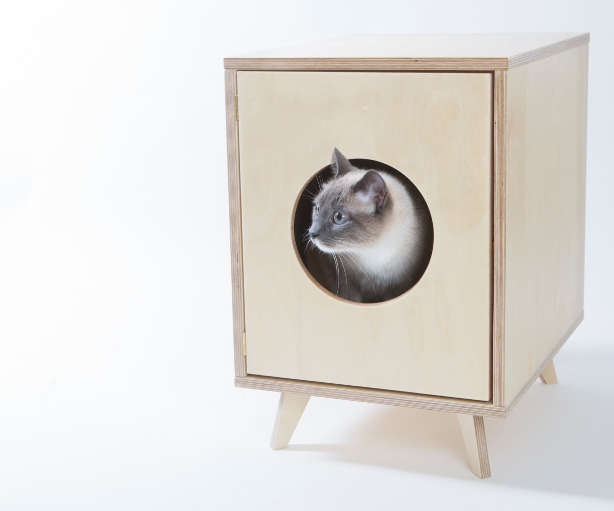Litter Box End Table | Litter Box Hider | Hidden Cat Litter Box