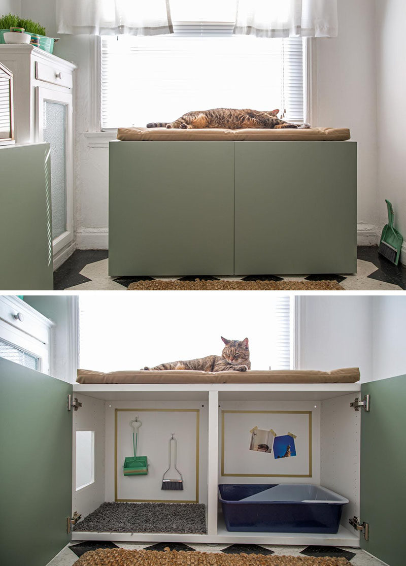 Litter Box Ideas | Cat Litter Solutions | Hidden Cat Litter Box