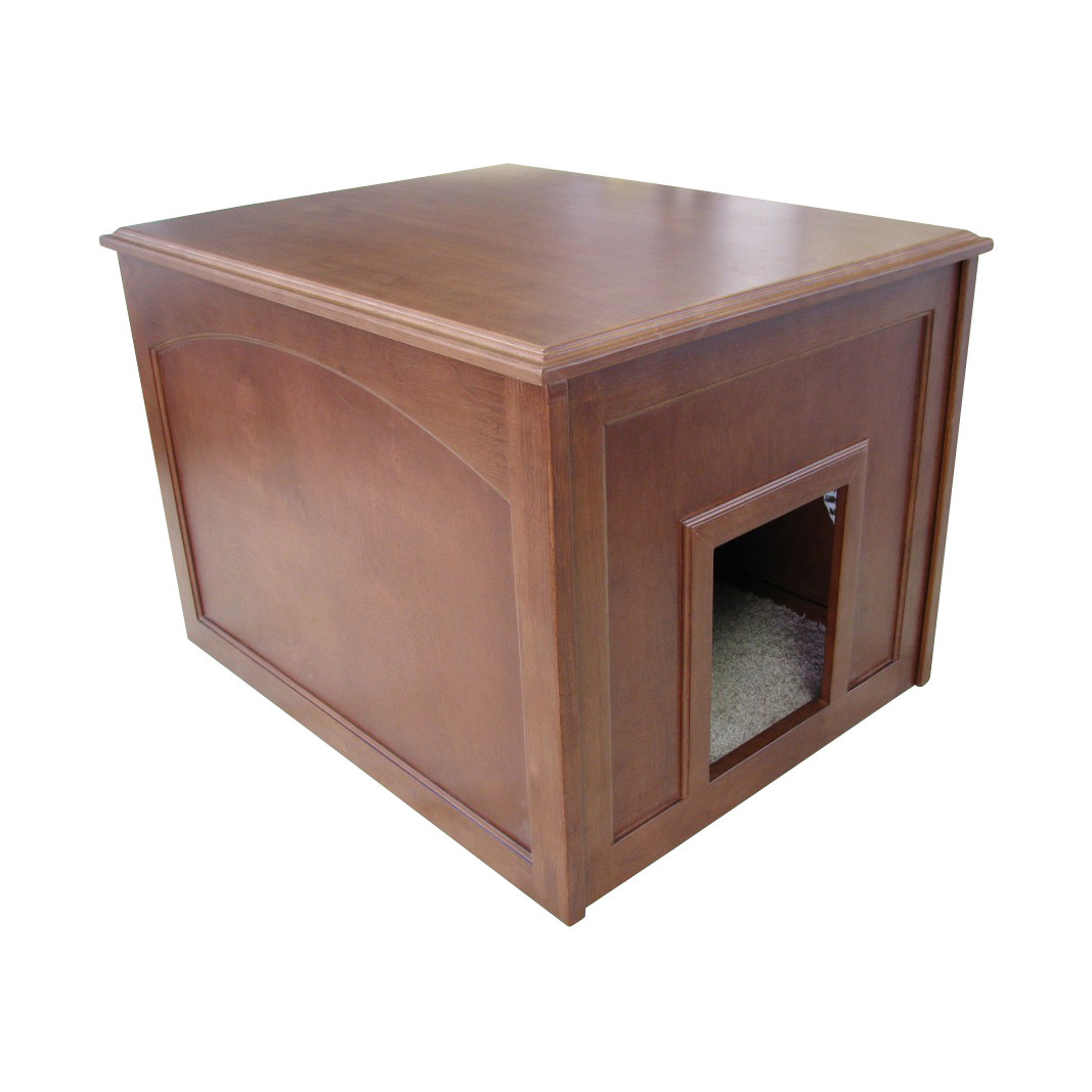Litter Box Solutions | Litter Box End Table | Hidden Cat Litter Box