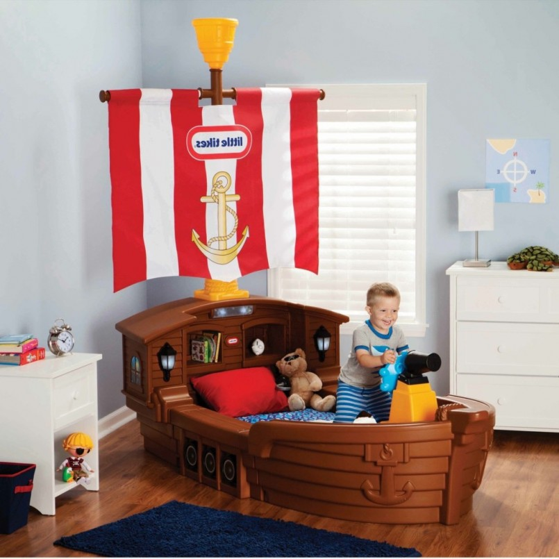 Little Tikes Pirate Bed | Fisher Price Pirate Bed | Little Tikes Boat