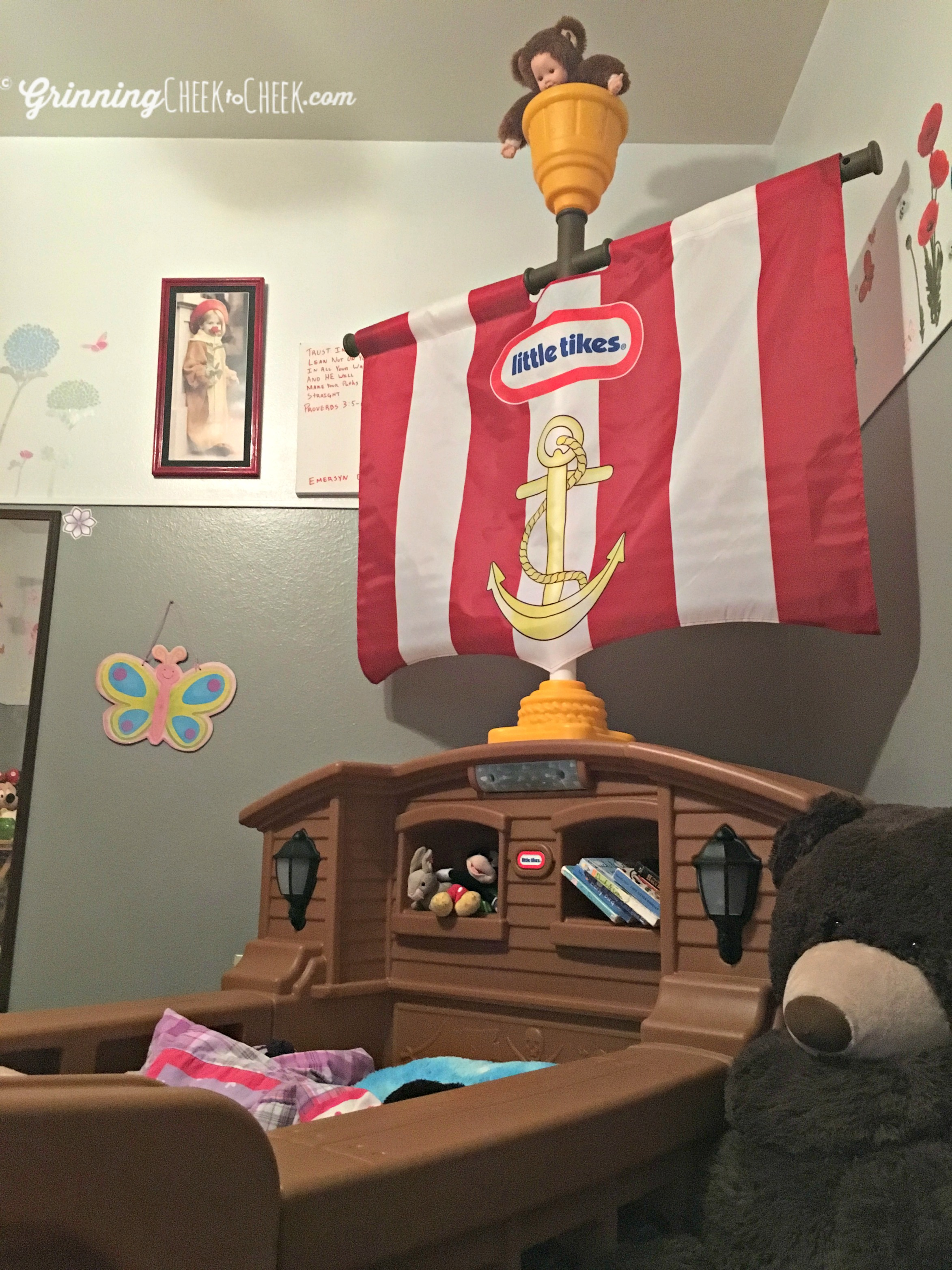 Little Tikes Pirate Bed | Jake and The Neverland Pirates Bed | Little Tikes Loft Bed