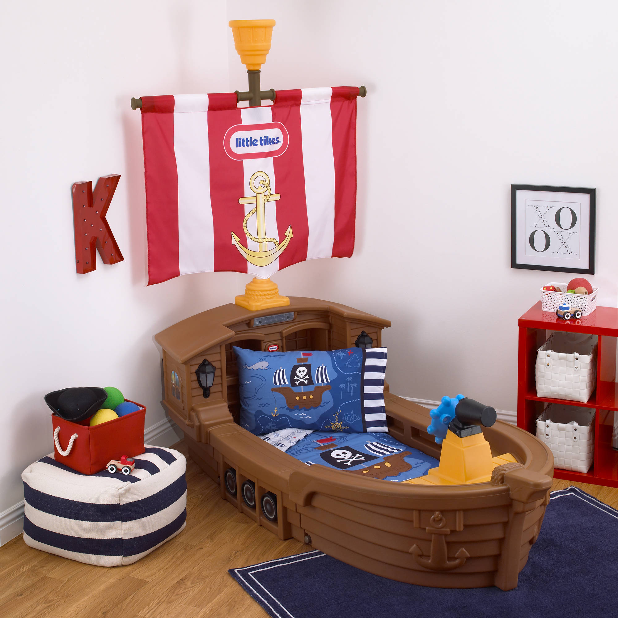 Little Tikes Pirate Bed | Jake and The Neverland Pirates Bed | Pirate Ship Loft Bed